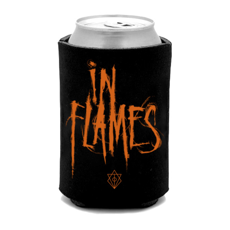 Orange Logo von In Flames - Koozie jetzt im In Flames Shop