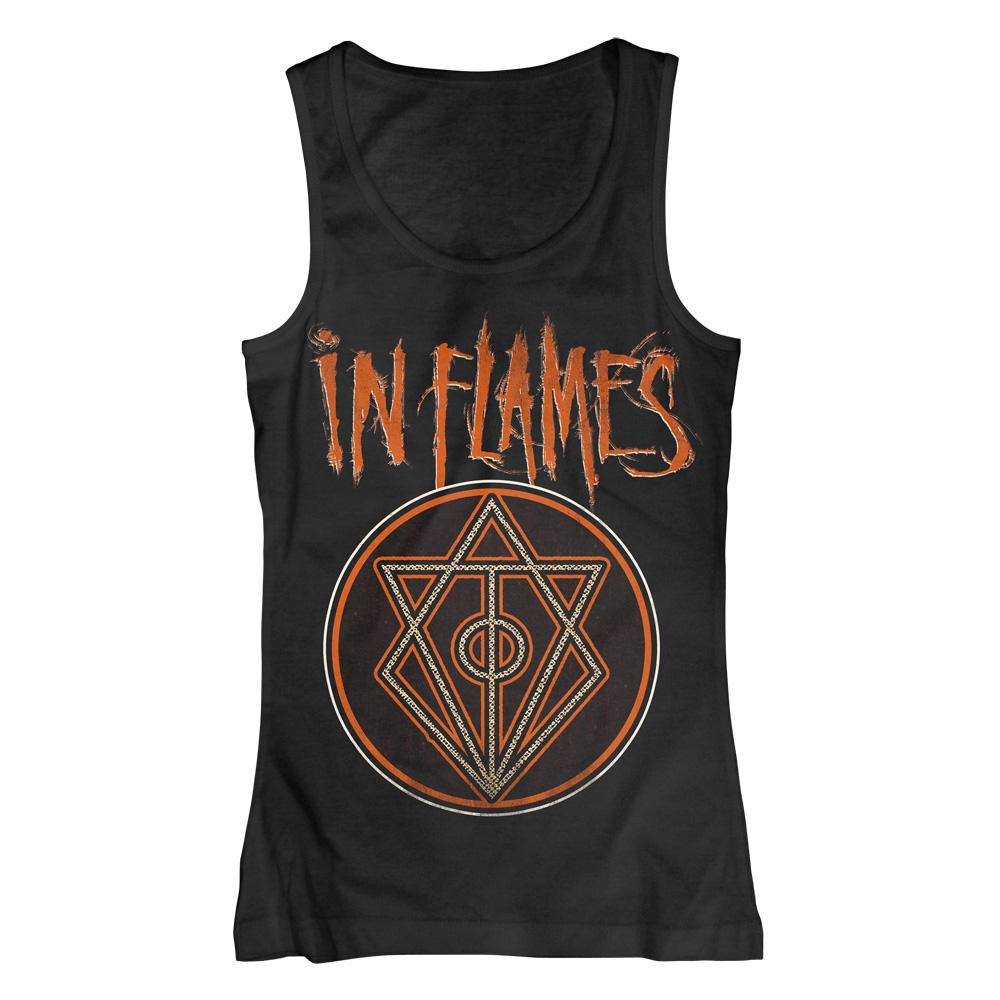 Vintage Circle von In Flames - Girlie Tank Top jetzt im In Flames Shop