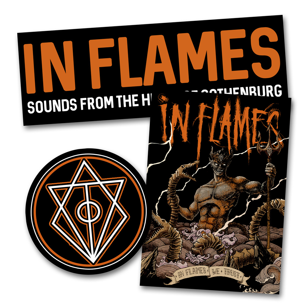 In Flames Shop Sounds From The Heart In Flames 3er