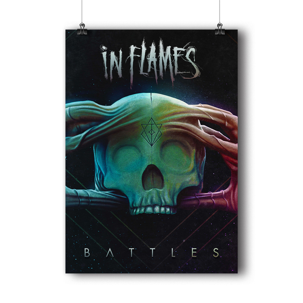 Battles Cover von In Flames - Poster jetzt im In Flames Shop
