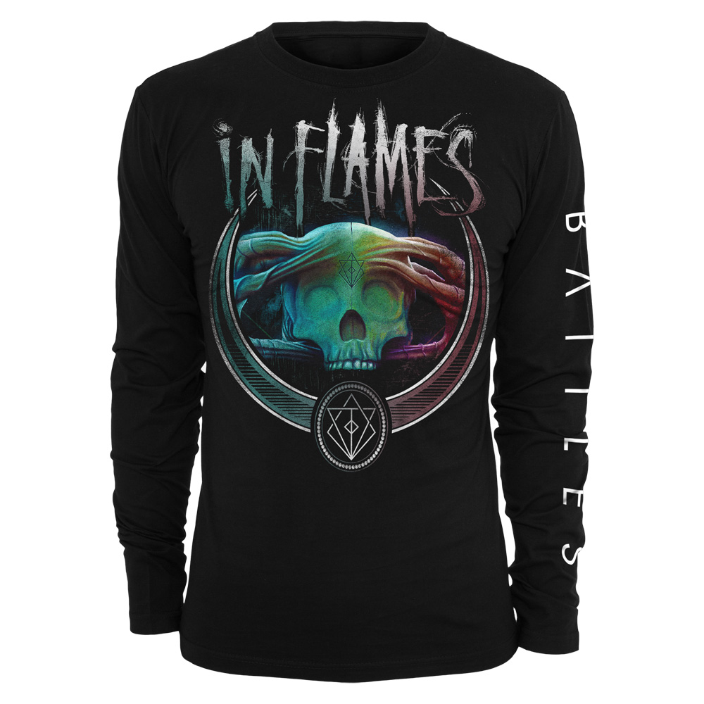 Battles Badge Colour von In Flames - Longsleeve jetzt im In Flames Shop