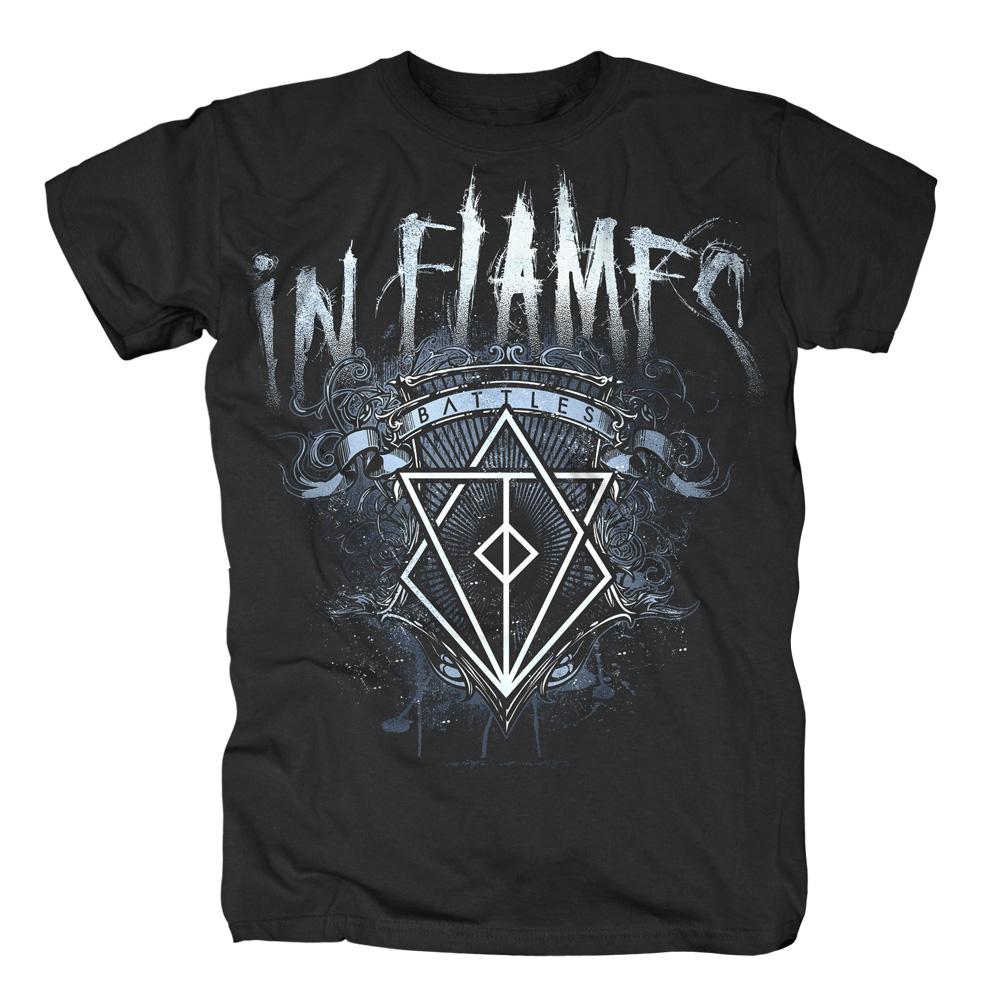 Battles Crest von In Flames - T-Shirt jetzt im In Flames Shop