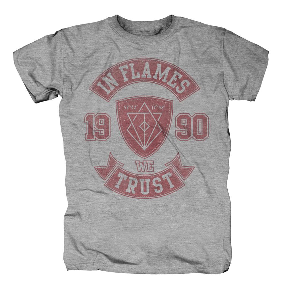 We Trust College von In Flames - T-Shirt jetzt im In Flames Shop