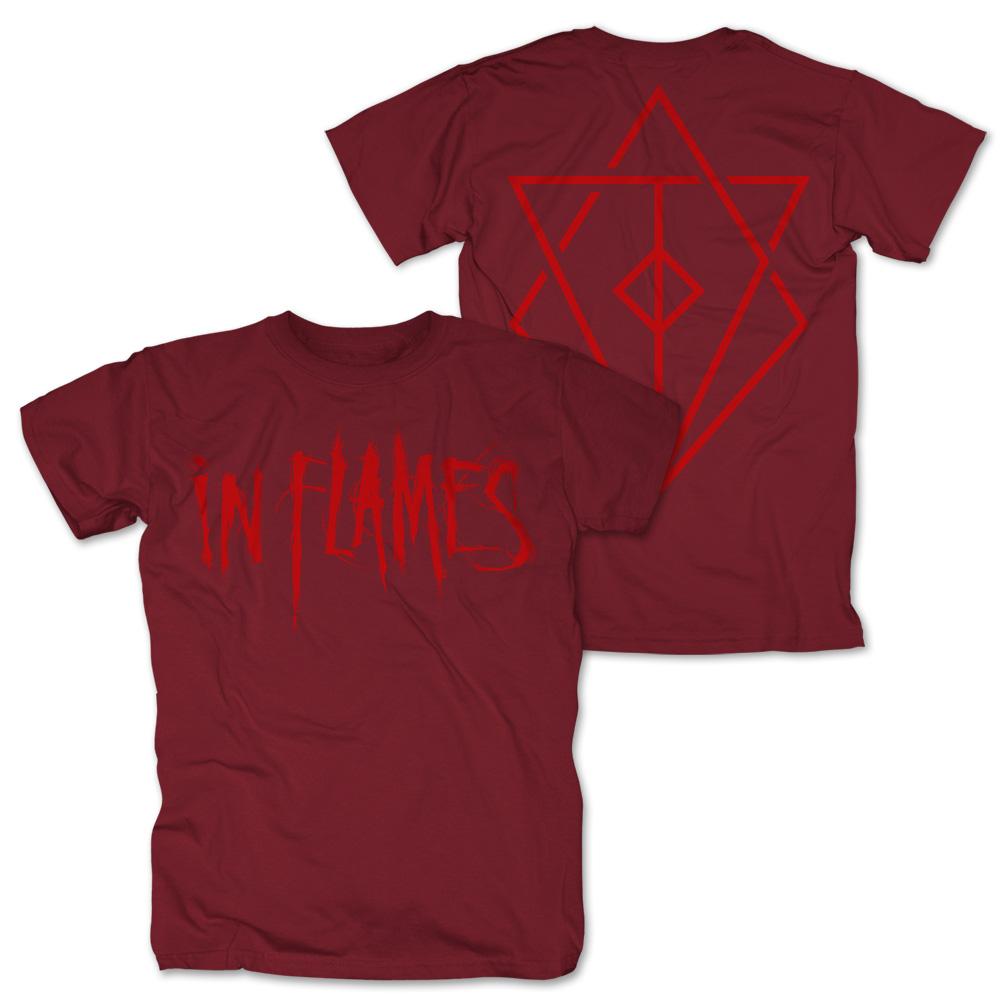 Logo red von In Flames - T-Shirt jetzt im In Flames Shop