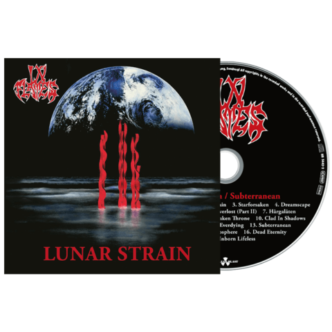 Lunar Strain + Subterranean by In Flames - CD - shop now at In Flames store