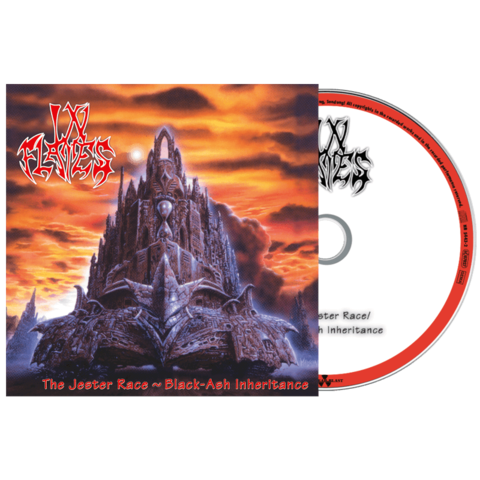 The Jester Race + Black Ash-Inheritance by In Flames - CD - shop now at In Flames store