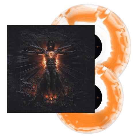 Clayman (20th Anniversary Edition) - Ltd. White / Orange Swirl LP von In Flames - LP jetzt im In Flames Shop