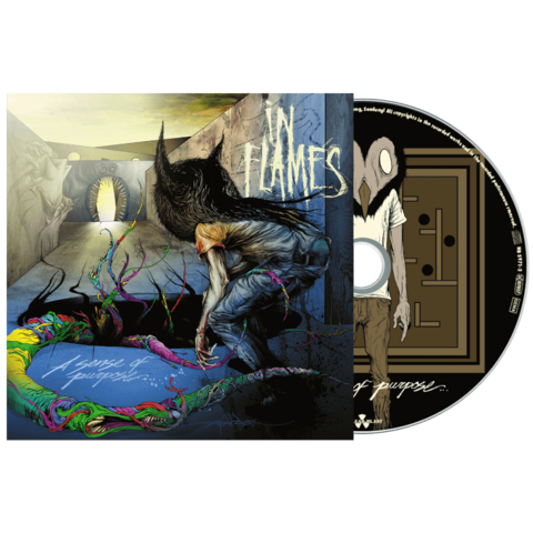 A Sense Of Purpose by In Flames - CD - shop now at In Flames store
