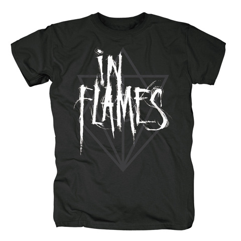 Scratch Logo Jesterhead von In Flames - T-Shirt jetzt im In Flames Shop