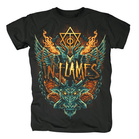 √Hate Is In The Air von In Flames - T-shirt jetzt im In Flames Shop