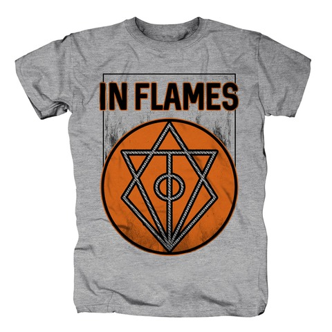 Vintage Circle Filled von In Flames - T-Shirt jetzt im In Flames Shop