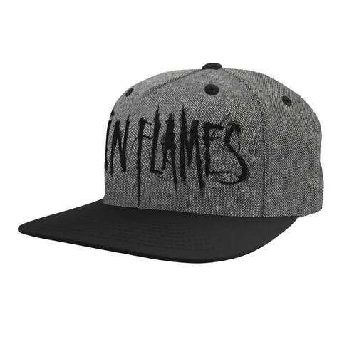 √Black Logo von In Flames - Cap jetzt im In Flames Shop