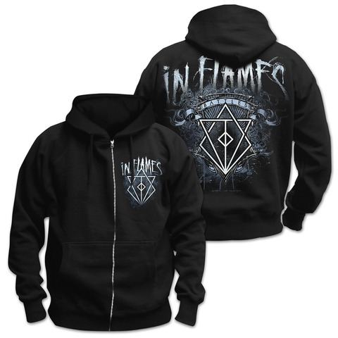 √Battles Crest von In Flames - Hooded jacket jetzt im In Flames Shop