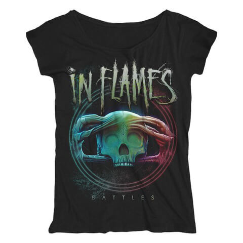 Battles Circle von In Flames - Girlie Shirt Loose Fit jetzt im In Flames Shop