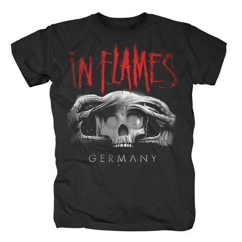 Skull Germany von In Flames - T-Shirt jetzt im In Flames Shop