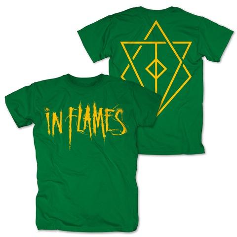 √Logo green von In Flames - T-Shirt jetzt im In Flames Shop