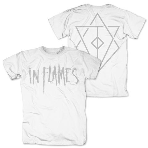 √Logo white von In Flames - T-shirt jetzt im In Flames Shop