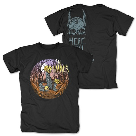 √Here Until Forever von In Flames - T-Shirt jetzt im In Flames Shop