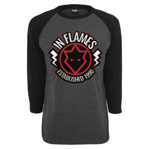 √Jesterhead 1990 von In Flames - Raglan Longsleeve 3/4 Arm jetzt im In Flames Shop