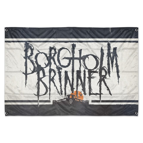 √Borgholm Brinner von In Flames - Flagge jetzt im In Flames Shop