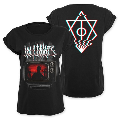 √Kill Your TV von In Flames - Girlie Shirt jetzt im In Flames Shop