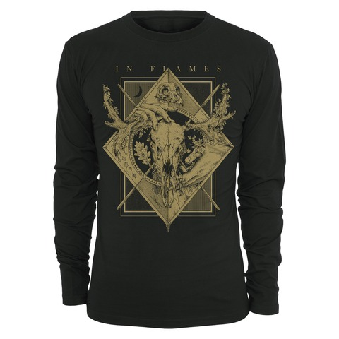 √Night Square von In Flames - Long-sleeve jetzt im In Flames Shop