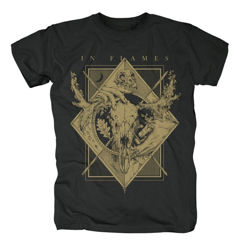 √Night Square von In Flames - T-Shirt jetzt im In Flames Shop