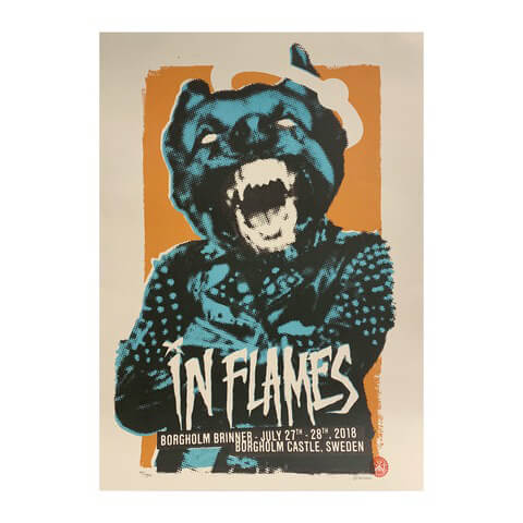 √Borgholm Dog von In Flames - Poster jetzt im In Flames Shop