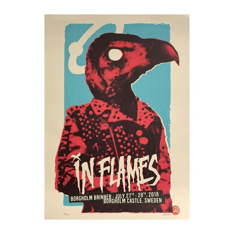 Borgholm Vulture von In Flames - Poster jetzt im In Flames Shop