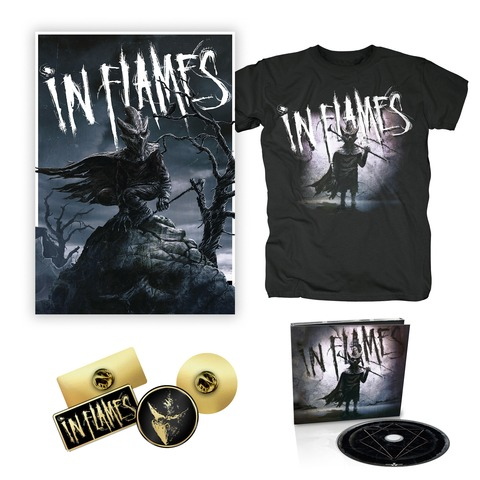 I am the Mask - Bundle von In Flames - CD, Pin-Set, Poster, T-Shirt jetzt im In Flames Shop