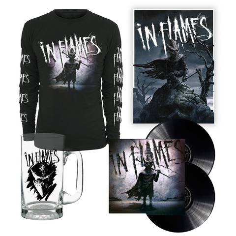 I am the Mask - Bundle von In Flames - Vinyl, Longsleeve, Bierglas, Poster jetzt im In Flames Shop