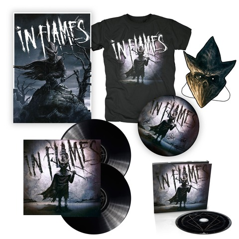 I am the Mask - Bundle von In Flames - Vinyl+CD,Poster,Shirt,Maske,Drumfell jetzt im In Flames Shop