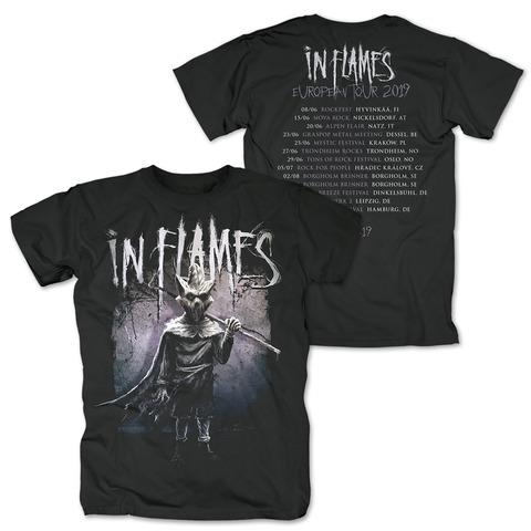√European Tour 2019 von In Flames - T-Shirt jetzt im In Flames Shop