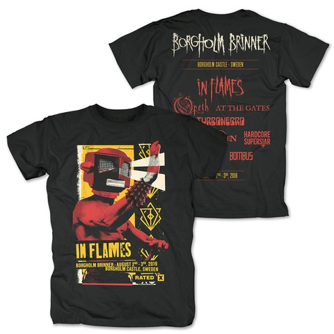√Eye Beam Rated X von In Flames - T-Shirt jetzt im In Flames Shop