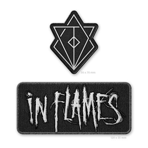 √Jesterhead and Logo von In Flames - 2er Aufnäher Set jetzt im In Flames Shop