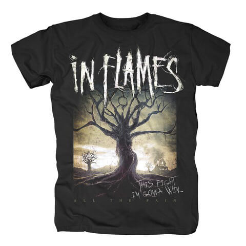 √All The Pain von In Flames - T-Shirt jetzt im In Flames Shop