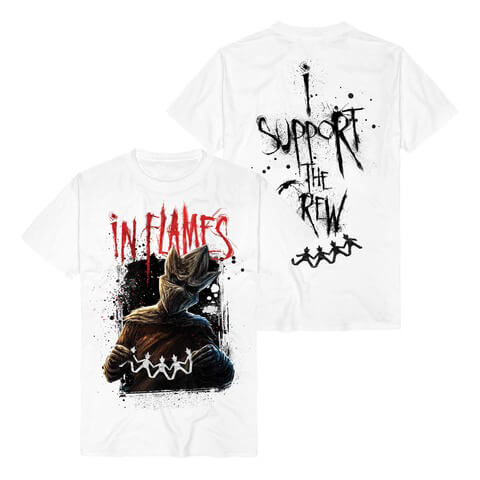 √I Support The Crew von In Flames - T-Shirt jetzt im In Flames Shop