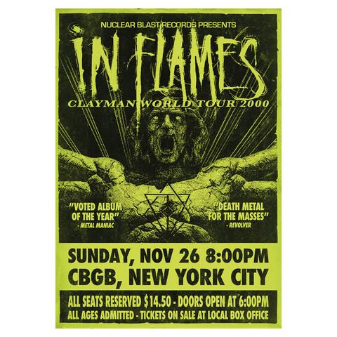 √Clayman World Tour 2000 von In Flames - Poster jetzt im In Flames Shop