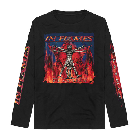 √Vitruvian Man - Clayman Album Art von In Flames - Long-sleeve jetzt im In Flames Shop