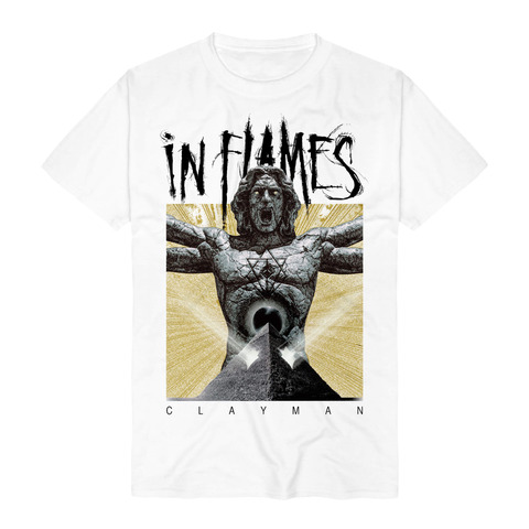√Clayman Enlighten von In Flames - T-shirt jetzt im In Flames Shop