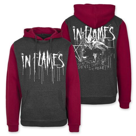 √Devil Left in My Hand von In Flames - Hood sweater jetzt im In Flames Shop