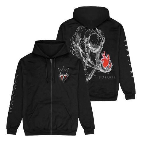 √Come Clarity Injured von In Flames - Hooded jacket jetzt im In Flames Shop