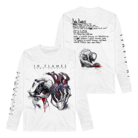 √Come Clarity Lyrics von In Flames - Long Sleeve jetzt im In Flames Shop