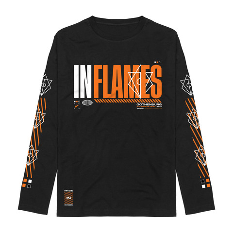 Logo Type by In Flames - Longsleeve - shop now at In Flames store