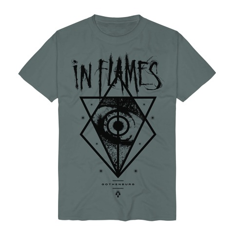 Jesterhead Eye by In Flames - t-shirt - shop now at In Flames store