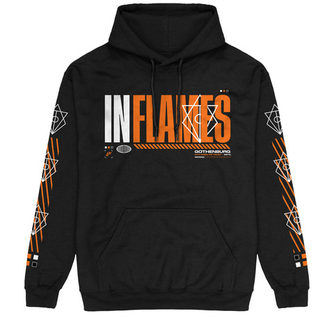 Logo Type by In Flames - Hood sweater - shop now at In Flames store